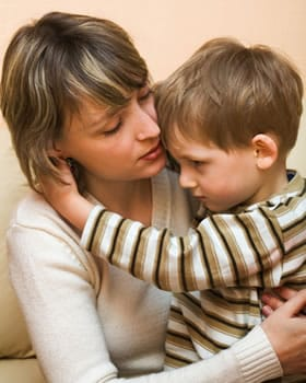Child custody mediation - mother son image.